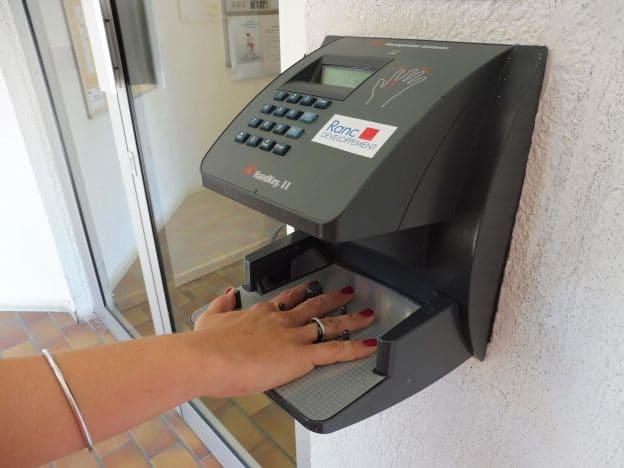 Contrôle d'accès biométrique - Ranc Développement | Société de sécurité